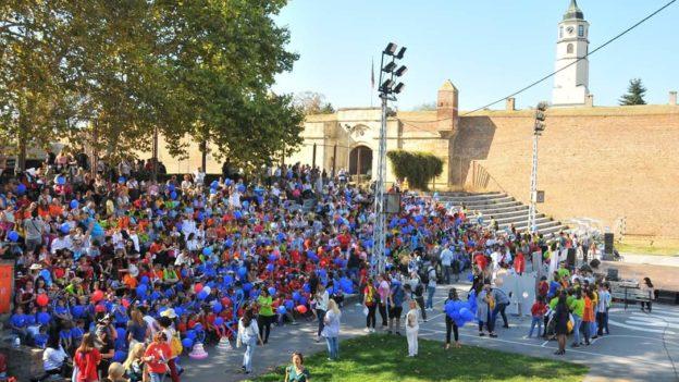 Karneval povodom 50 godina Radosti Evrope